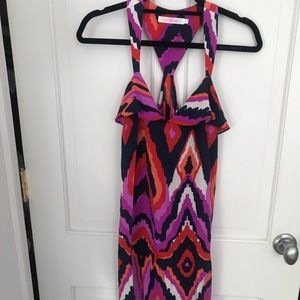 Patterned Party Dress